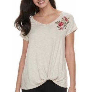 French Laundry Embroidered Top